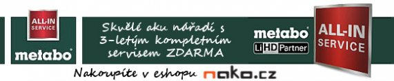 nako.cz - Metabo LiHD Partner