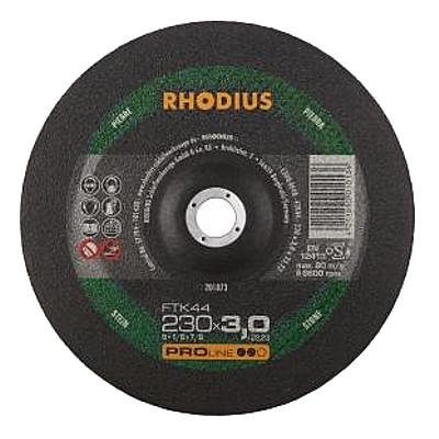 RHODIUS 230x3.0 FTK44 řezný kotouč na kámen, beton a tvrdý hliník, 201873