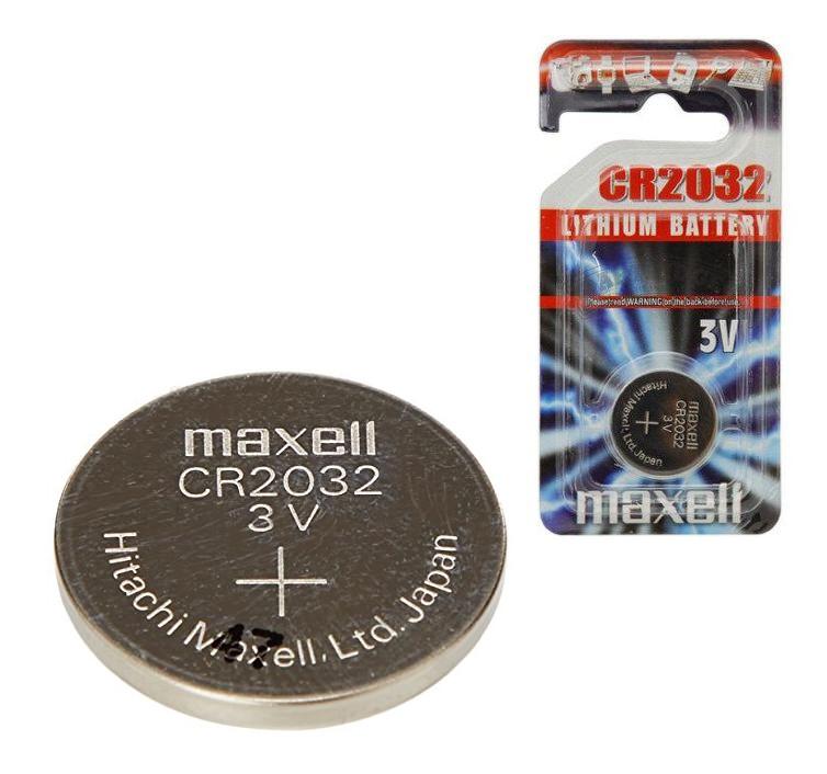 Baterie maxell CR2032 lithium 3V