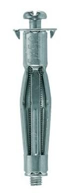FISCHER HM-S 6x10-21/52 S kovová hmoždinka pro sádrokartonové a jiné deskové mat.