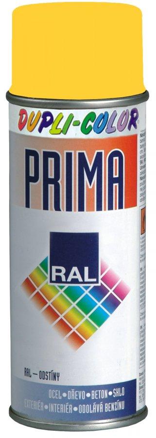 DUPLI-COLOR PRIMA RAL 1021 žlutá hořčičná 400ml