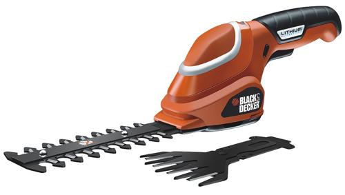 BLACK&DECKER GSL700 nůžky na trávu a keře 7,2V Lion