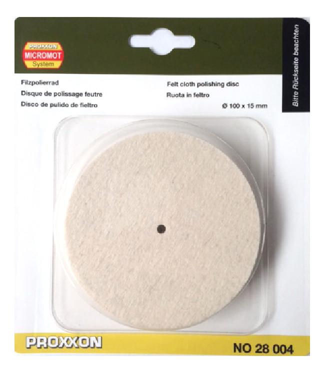 PROXXON 28004 leštící kotouč filcový 100x15mm