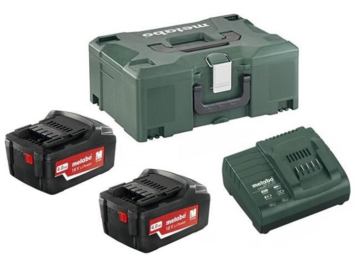METABO Basic-Set 4.0Ah (2x akumulátor 18V/4.0Ah + nabíječka ASC30-36) 685064000