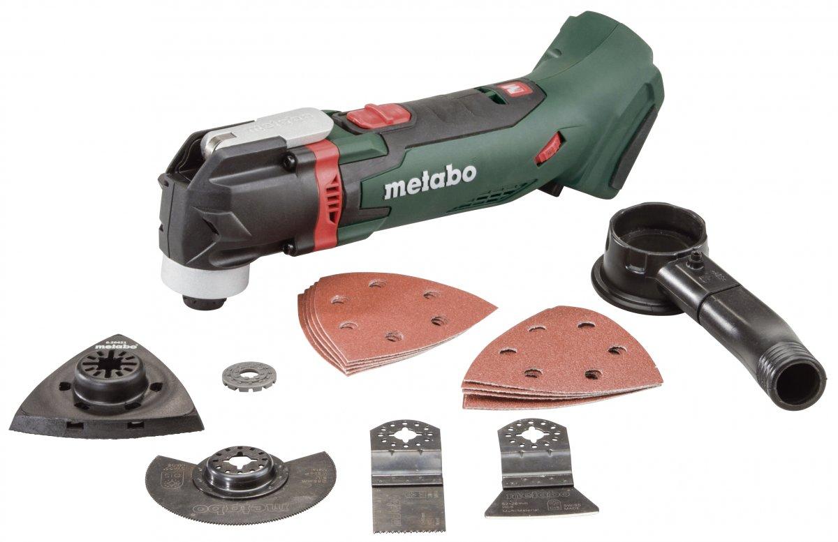 METABO MT 18 LTX aku oscilační multi bruska bez akumulátoru 613021890
