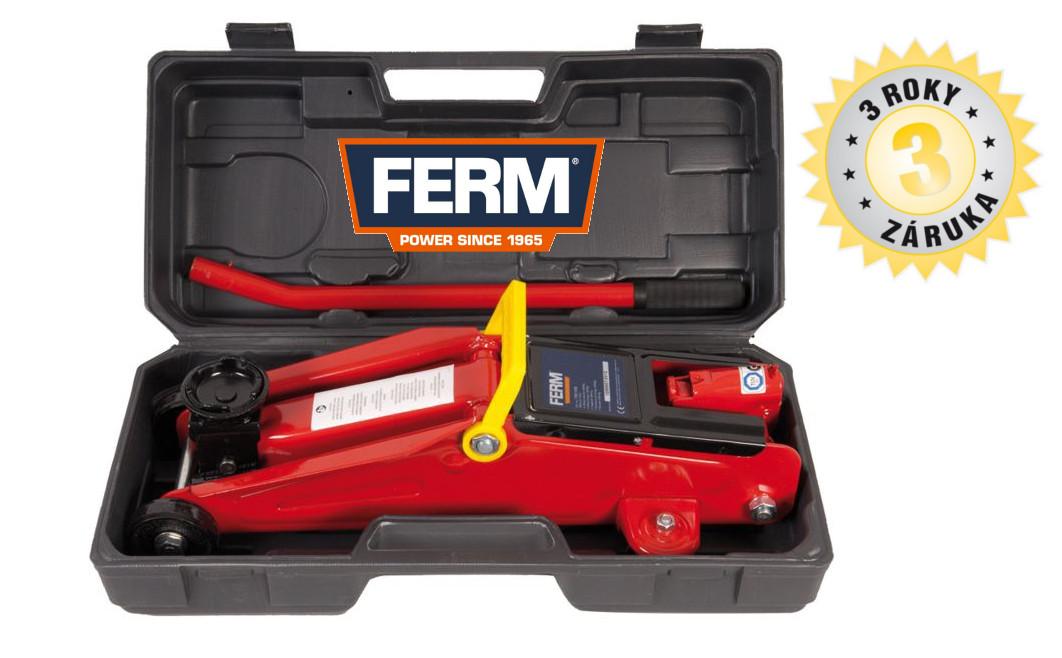 FERM FRJ-2000K hydraulický zvedák pojízdný 2T TJM1008