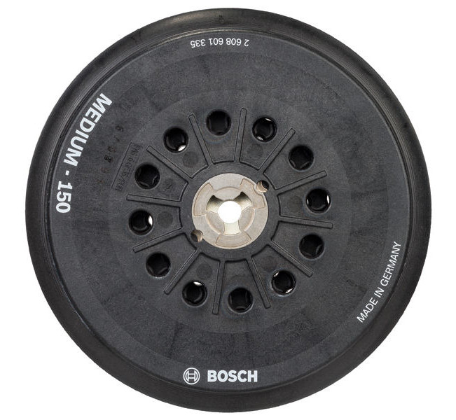 BOSCH 2608601335 podložný talíř na suchý zip střední tvrdost 150mm