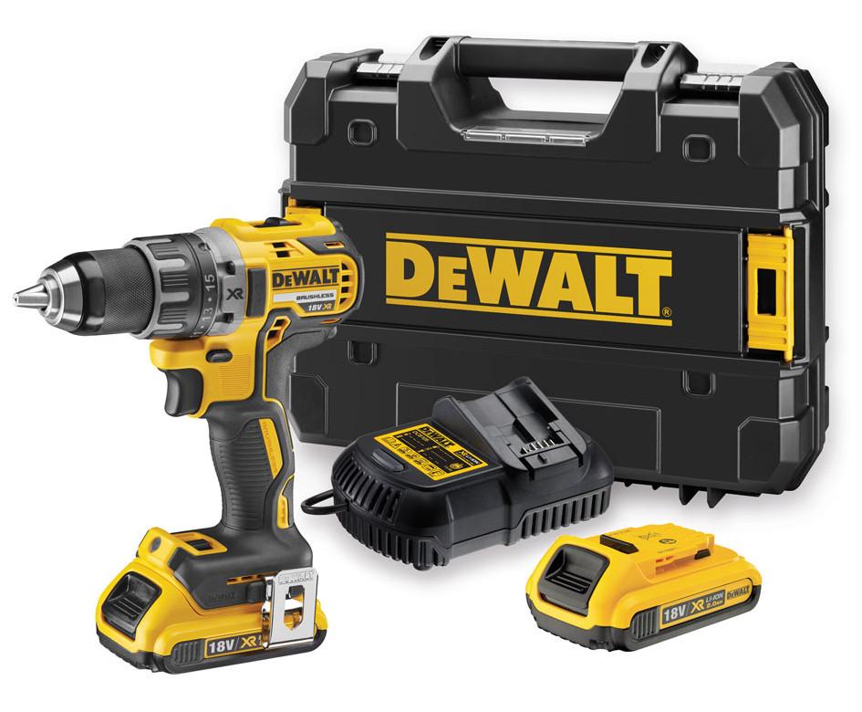DeWALT DCD791D2 aku vrtačka 18V XR Li-Ion 2x2,0 Ah Brushless