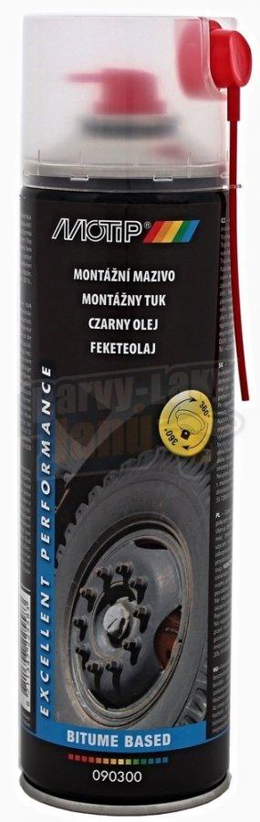 MOTIP černý tuk montážní mazivo 500ml 090300