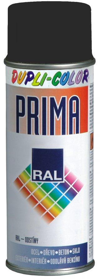 DUPLI-COLOR PRIMA RAL 9005M černá matná 500ml