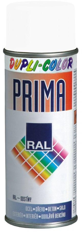 DUPLI-COLOR PRIMA RAL 9010M bílá matná 500ml