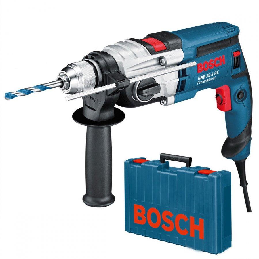 BOSCH GSB 19-2 RE příklepová vrtačka 850W v kufru 060117B500