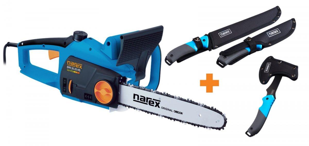 NAREX EPR 35-25 HS elektrická řetězová pila + Garden Kit MACHETE 65404579