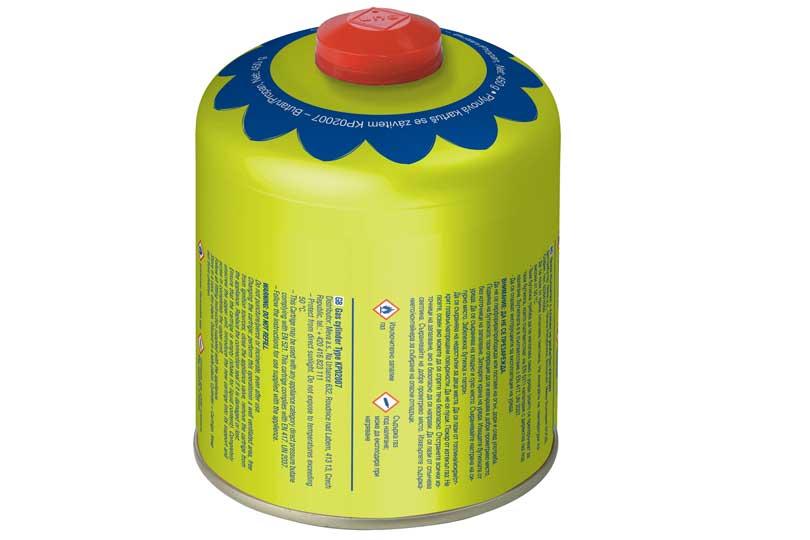 MEVA KP02007 plynová kartuše 450 g, ventil, závit