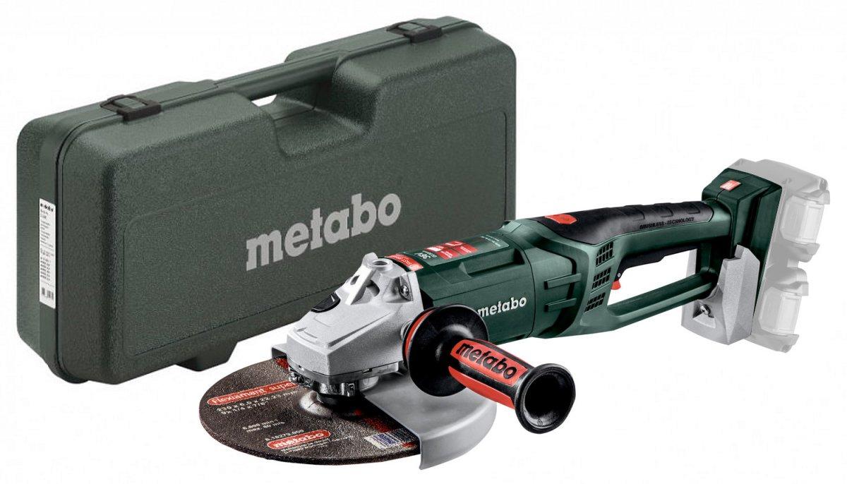 METABO WPB 36-18 LTX BL 230 aku úhlová bruska bez akumulátoru, 613102840