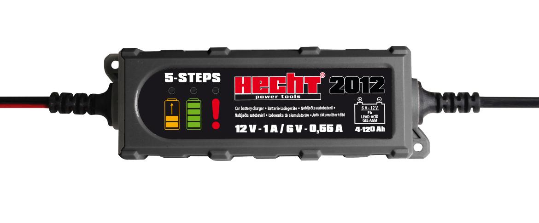 HECHT 2012 nabíječka auto a moto baterií