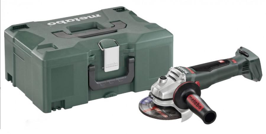 METABO WB 18 LTX BL 125 Quick aku úhlová bruska bez baterie v MetaLocu 613077840