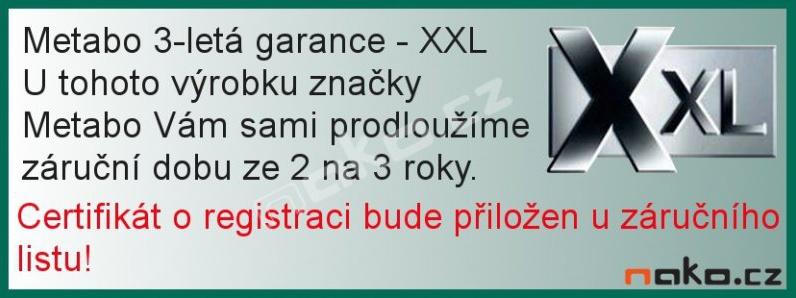 METABO DG 25 Set přímá vzduchová bruska 604116500