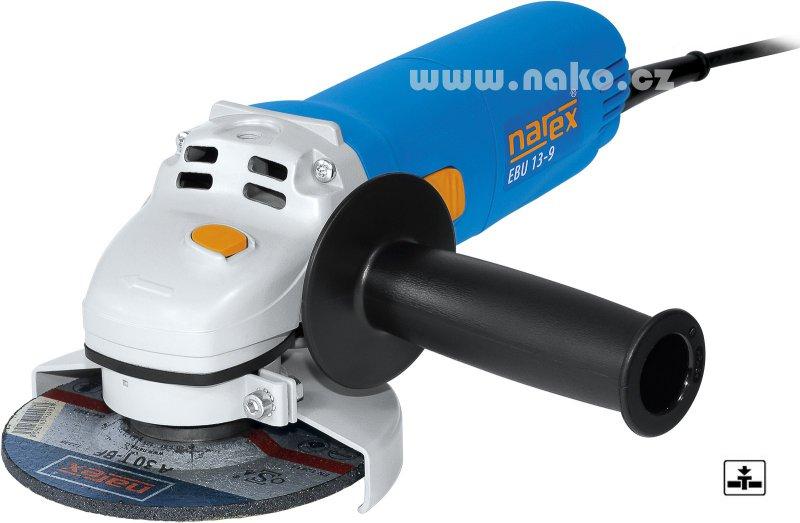 NAREX EBU 13-9 úhlová bruska 125mm/900W
