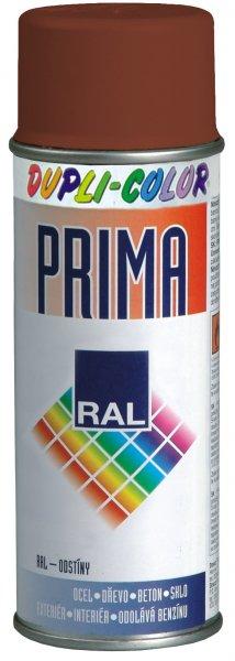 DUPLI-COLOR PRIMA RAL 8011 hnědá oříšková 400ml