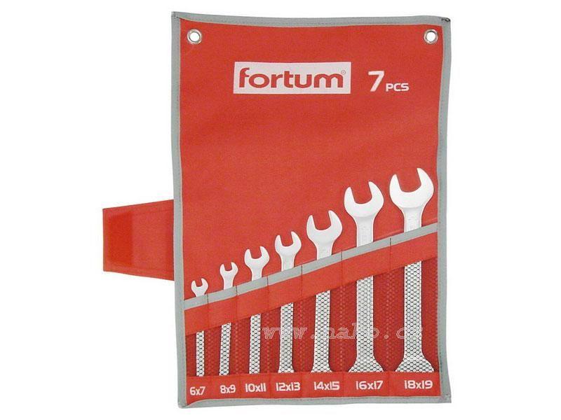 FORTUM 4730103 sada plochých klíčů 6-19mm