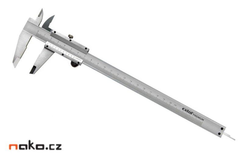 EXTOL Premium měřítko posuvné kovové 200mm 3422