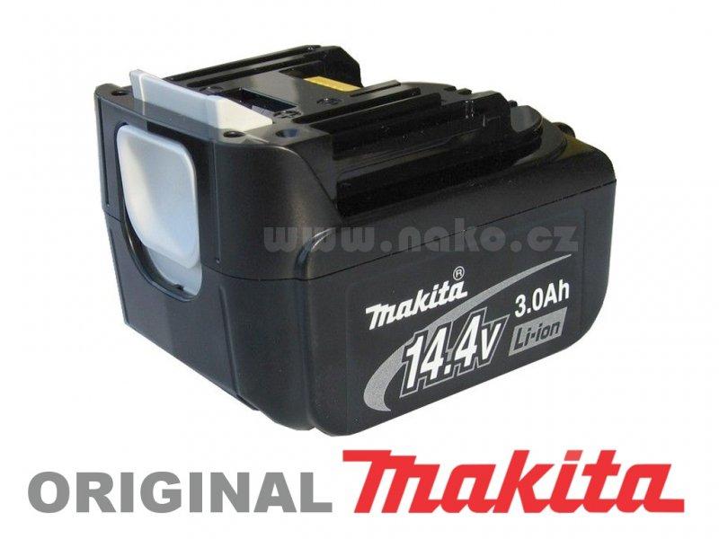 MAKITA baterie BL1430 14.4V 3Ah Li-ion ORIGINÁL 194065-3
