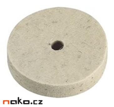 Filcový leštící kotouč 150x20x20mm AFK1502020