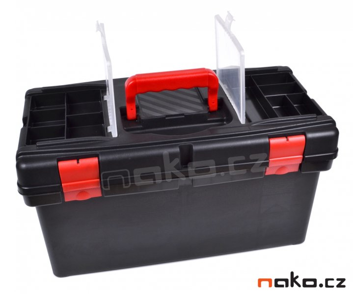 LEMCO P1880-P kufr plastový 520mm se zásobníky a poličkou P1800