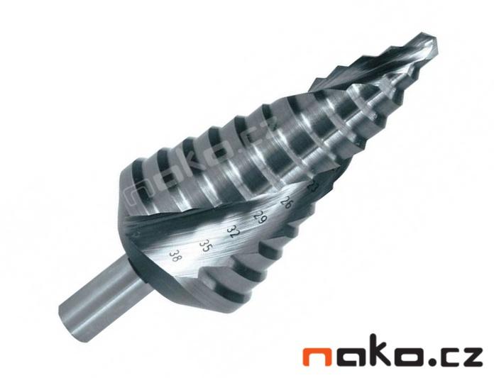 RUKO vrták stupňovitý 6-38mm č.3 HSS 101053