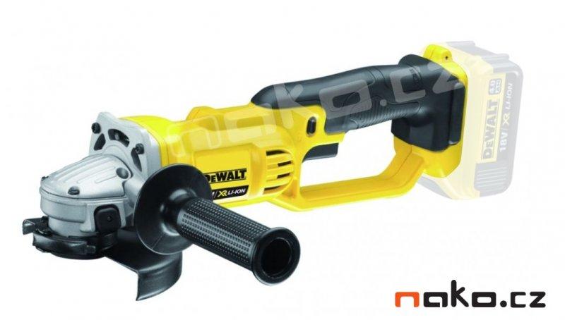 DeWALT DCG412N 18V aku úhlová bruska bez baterií