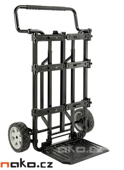 DeWALT DScarrier Tough system 4IN1 sada 3 kufrů a vozíku 1-70-349