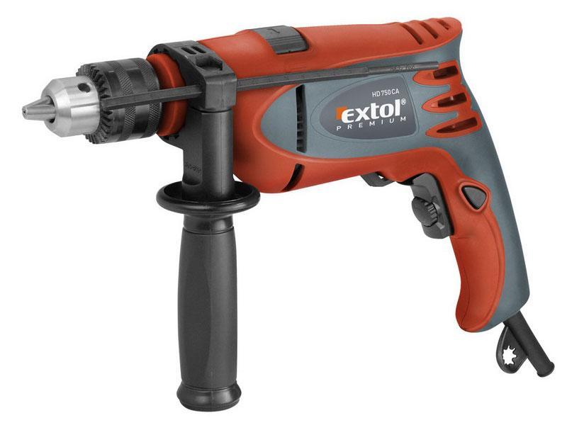 EXTOL PREMIUM HD750CA příklepová vrtačka 750W (8890012)