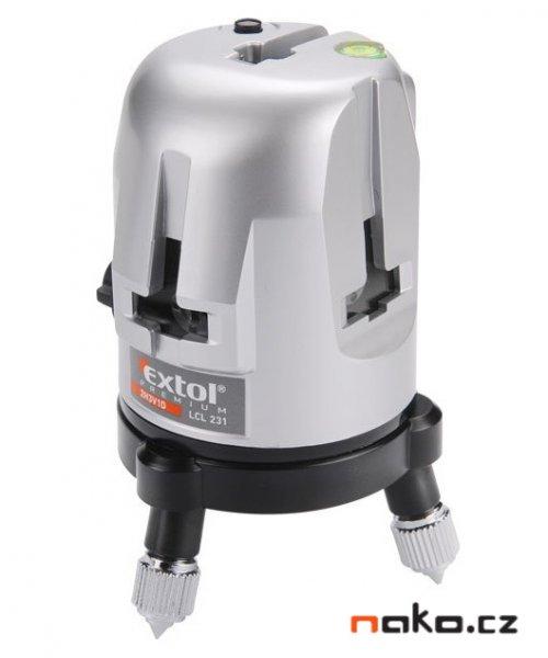 EXTOL PREMIUM LCL 231 křížový samonivelační laser 8823310