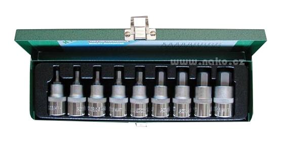 HONITON H4008 sada hlavic imbus 4-17mm