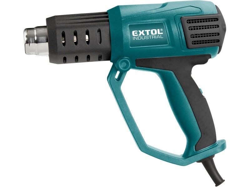 EXTOL INDUSTRIAL 8794800 pistole horkovzdušná s plynulou regulací 2000W