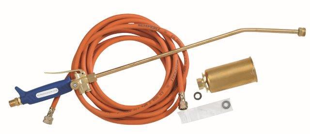MEVA 2274H izolatérský plynový hořák 65kW + hadice