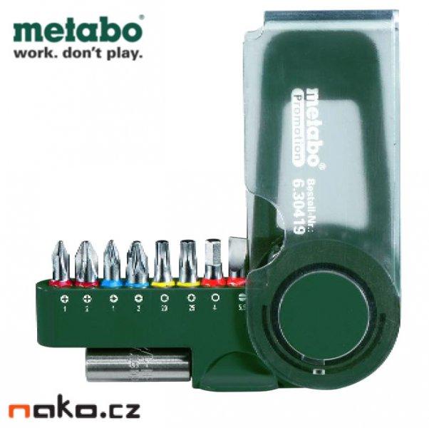 METABO sada bitů 9 dílů 630419000