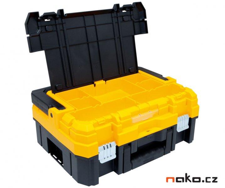 DeWALT TSTAK I box na nářadí s AL rukojetí 14 litrů DWST1-70704