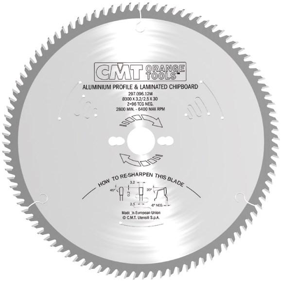 CMT C29621064M pilový kotouč D210x2,8x30mm Z64 na lamino, plast a neželezné kovy