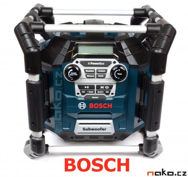 BOSCH GML 20 akumulátorové stavební rádio