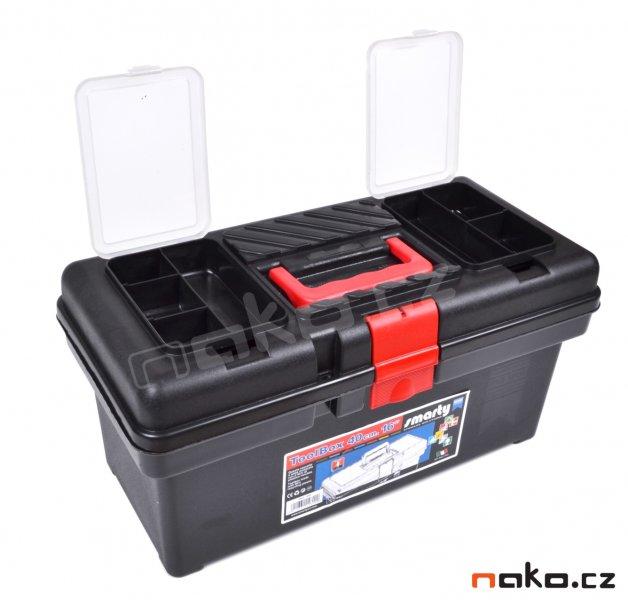 LEMCO 1460 kufr na nářadí plastový 415mm, polička P1400, organizery