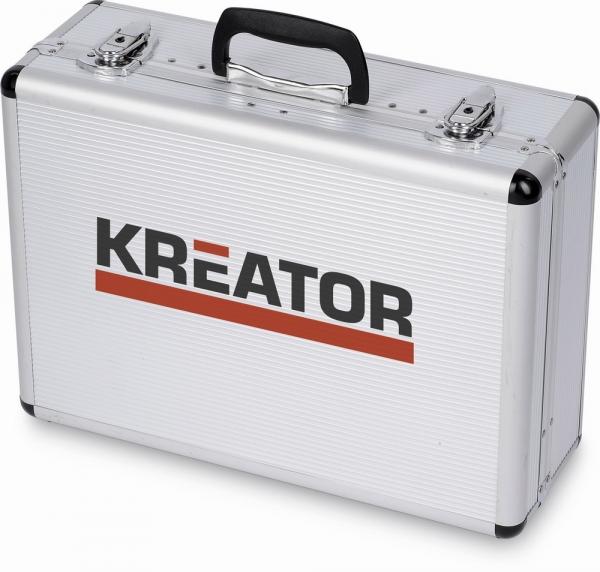 KREATOR KRT951002 sada ručního nářadí v hliníkovém kufru, 109 dílů