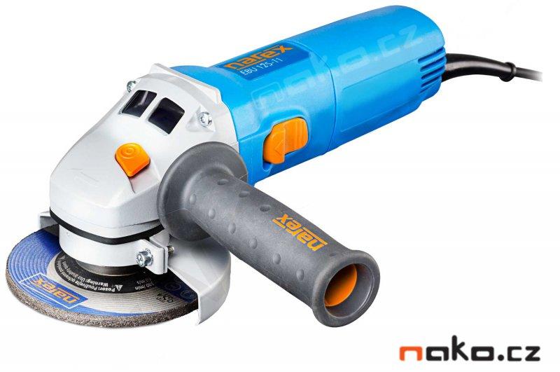 NAREX EBU 125-11 úhlová bruska 125mm 1100W 65403733