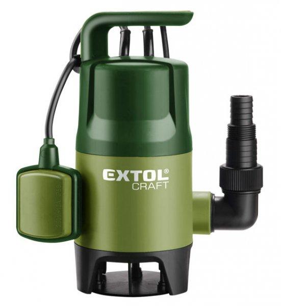 EXTOL CRAFT 414122 ponorné čerpadlo na znečištěnou vodu, 400W