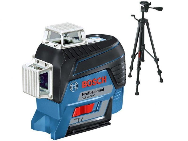 BOSCH GLL 3-80 C+BT 150 laserový nivelační přístroj 0601063R01