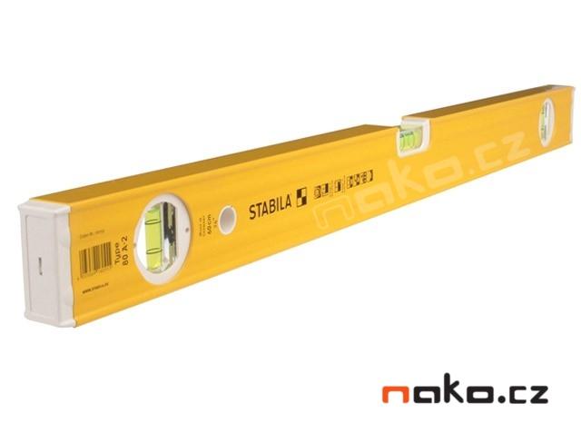 STABILA vodováha 80A vodováha 60cm 0.5mm/m