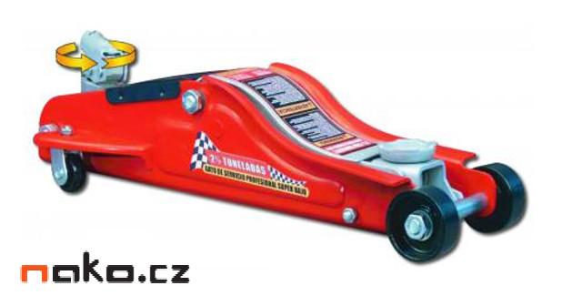 PROMA HZN-2 nízkoprofilový zvedák pojizdný 2t v kufru 06825010