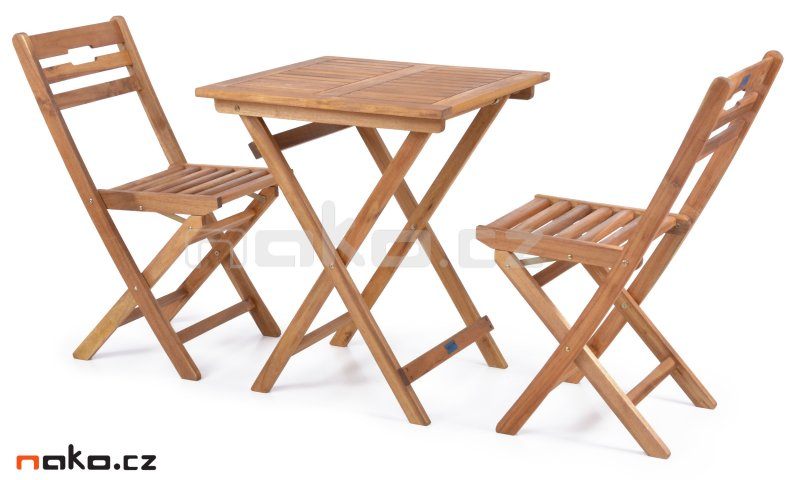 HECHT BALCONY SET A zahradní stůl a skládací židle