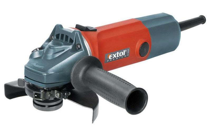 EXTOL PREMIUM AG 125 EP bruska úhlová, 850W, 125mm (8892013)